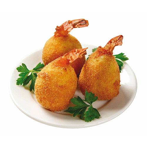 Shrimps in Potatoes